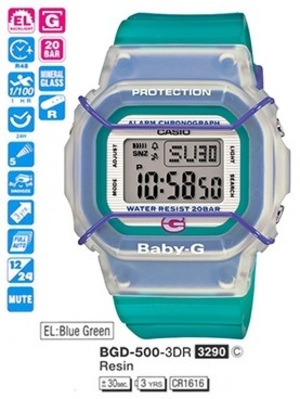 Casio BGD-500-3ER