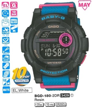 Casio BGD-180-2ER
