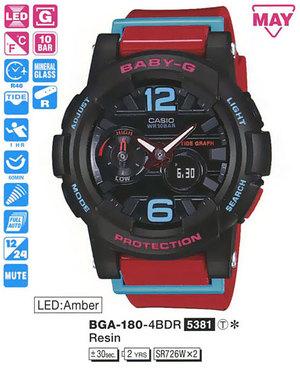 Casio BGA-180-4BER