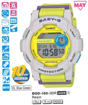 Casio BGD-180-3ER