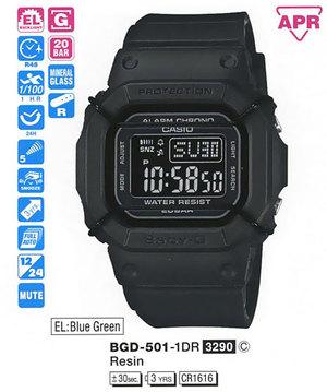 Casio BGD-501-1ER