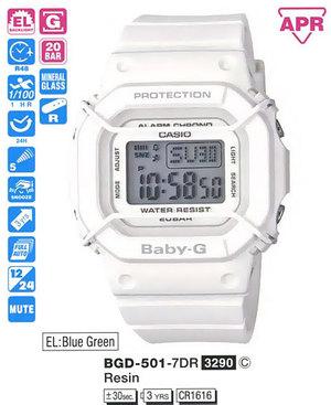 Casio BGD-501-7ER