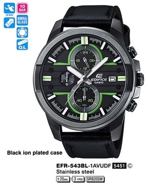 Casio EFR-543BL-1AVUEF