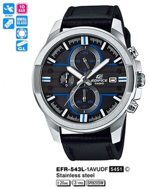 Casio EFR-543L-1AVUEF