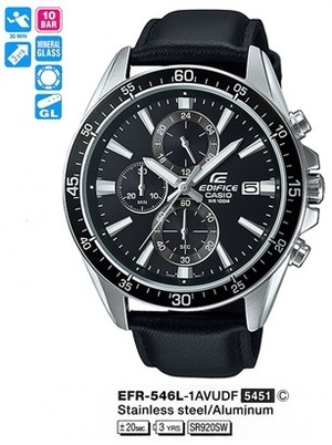 Casio EFR-546L-1AVUEF