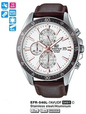 Casio EFR-546L-7AVUEF