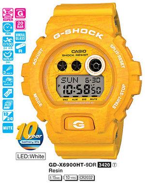 Casio GD-X6900HT-9ER