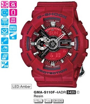 Casio GMA-S110F-4AER