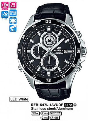 Casio EFR-547L-1AVUEF