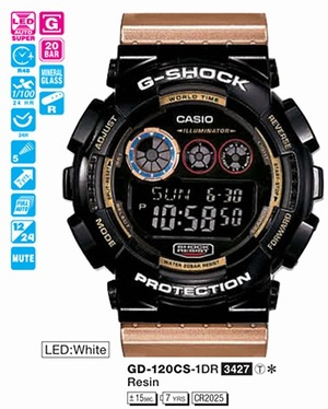 Casio GD-120CS-1ER