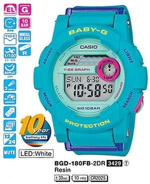 Casio BGD-180FB-2ER