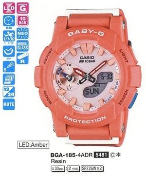 Casio BGA-185-4AER