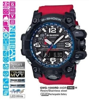 Casio GWG-1000RD-4AER