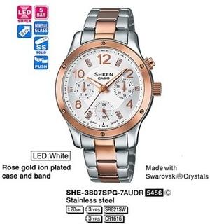Casio SHE-3807D-7AUER