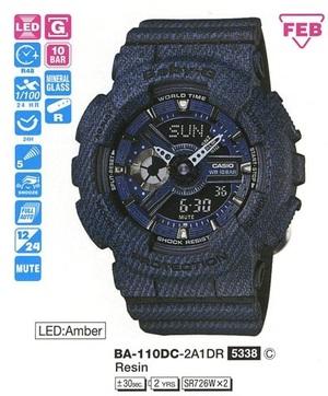 Casio BA-110DC-2A1ER
