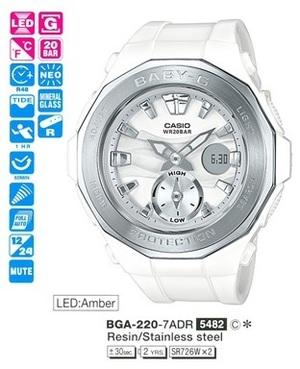 Casio BGA-220-7AER