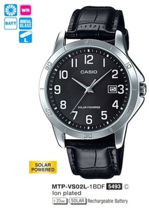 Casio MTP-VS02L-1B