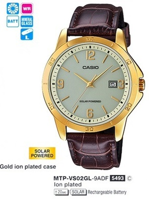 Casio MTP-VS02GL-9A