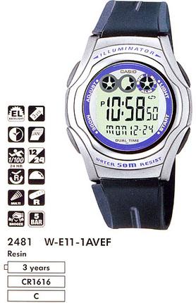 Casio W-E11-1A
