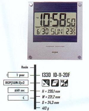 Casio ID-11-2D