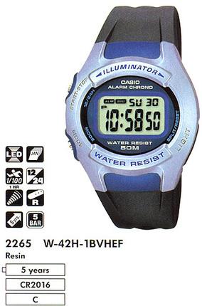 Casio W-42H-1B