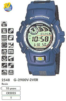 Casio G-2900V-2V