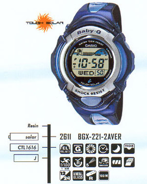 Casio BGX-221-2A