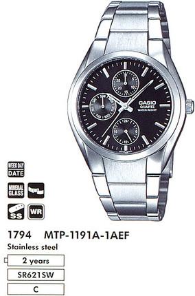 Casio MTP-1191A-1AEF