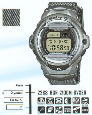 Casio BGR-210DM-8V