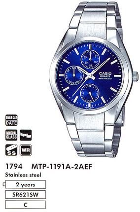 Casio MTP-1191A-2AEF