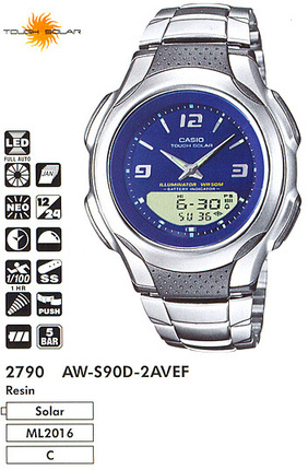 Casio AW-S90D-2A