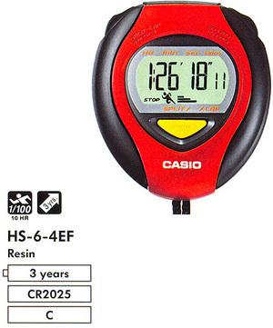 Casio HS-6-4E
