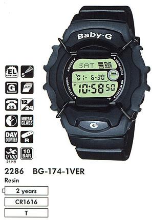 Casio BG-174-1V