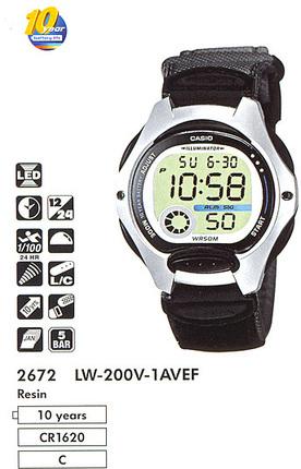 Casio LW-200V-1A