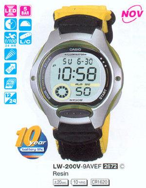Casio LW-200V-9A