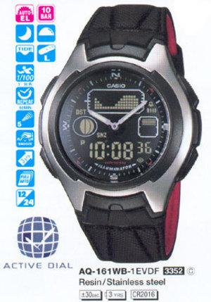 Casio AQ-161WB-1E