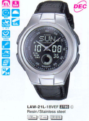 Casio LAW-21L-1B