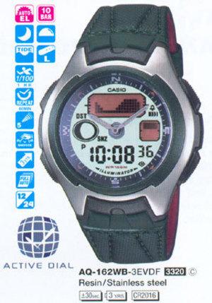 Casio AQ-162WB-3E