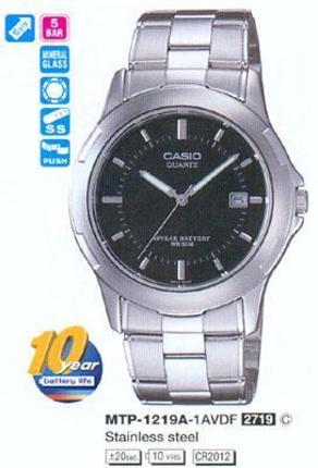 Casio MTP-1219A-1AVEF