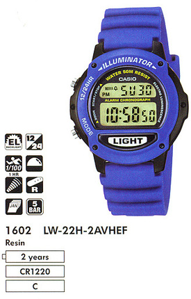 Casio LW-22H-2A