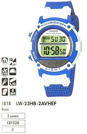 Casio LW-23HB-2A