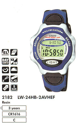 Casio LW-24HB-2A