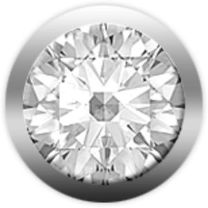 Christina Charms бриллиант белый