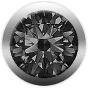 Christina Charms бриллиант черный