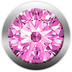 Christina Charms сапфир розовый