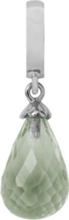 Christina Charms hangers - green amethyst 610-S01Amethystg