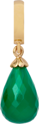 Christina Charms hangers - green onyx drop 610-G01Green