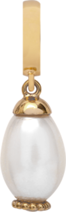Christina Charms hangers - white pearl drop 610-S08white