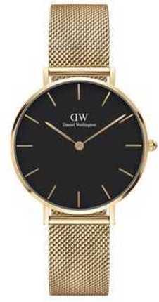 Часы Daniel Wellington DW00100347 Petite 32 Evergold G Black