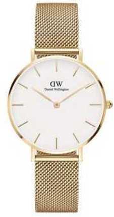 Часы Daniel Wellington DW00100348 Petite 32 Evergold G White
